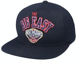 New Orleans Pelicans Zz Black Snapback - Mitchell & Ness