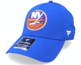New York Islanders Primary Logo Core Flex Fit Fitted Royal Flexfit - Fanatics