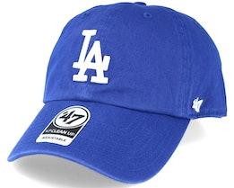 Los Angeles Dodgers 2 Tone Clean Up Royal Blue Adjustable - 47 Brand