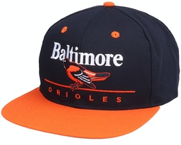 Baltimore Orioles Classic MLB Vintage Black/Orange Snapback - Twins Enterprise