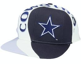 Dallas Cowboys Vortex NFL Vintage Black/Grey Snapback - Twins Enterprise