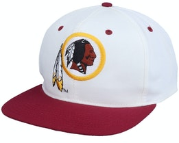 Washington Football Team Washington Redskins Base Two Tone Nfl Vintage White/Red Snapback - Twins Enterprise