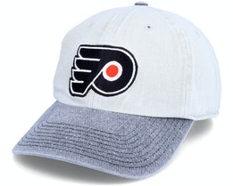 Philadelphia Flyers Old School Washed NHL Vintage Dad Cap - Twins Enterprise