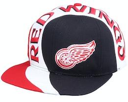 Detroit Red Wings Vortex NHL Vintage Snapback - Twins Enterprise