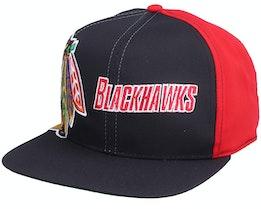 Chicago Blackhawks Chicago Blackhawks Big Logo NHL Vintage - Twins Enterprise