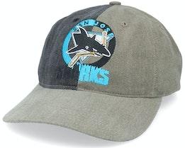 Hatstore Exclusive x San Jose Sharks Panel Shades NHL Vintage - Twins Enterprise