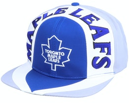 Toronto Maple Leafs Allover2 NHL Vintage Blue/Grey Snapback - Twins Enterprise
