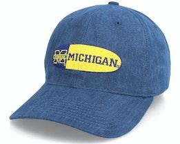 Hatstore Exclusive x Michigan Wolverines Oval Logo Authentic Vintage - Twins Enterprise