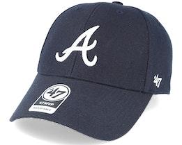 Atlanta Braves Mvp Navy Adjustable - 47 Brand