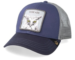 The Owl Blue/Grey Trucker - Goorin Bros.