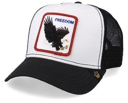 Freedom White/Black Trucker - Goorin Bros.