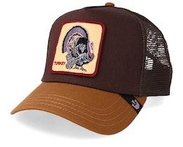 Wild Turkey Dark Brown/Brown Trucker - Goorin Bros.