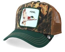 Duck Duck Forest/Green/Brown Trucker - Goorin Bros.