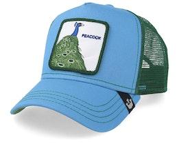 Peacock Blue/Green Trucker - Goorin Bros.