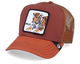Wild Kitty Brown/Orange Trucker - Goorin Bros.