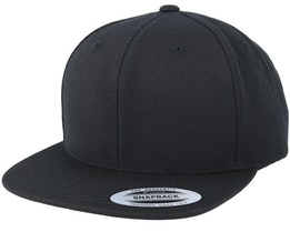 Black/Black Snapback - Yupoong