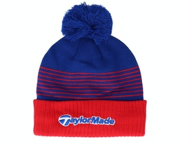 Bobble beanie red royal Pom - Taylor Made