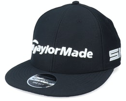 Tour Flat Bill Black/White Snapback - Taylor Made