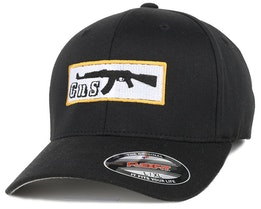Box-AK47 Black Flexfit - GUNS n SKULLS