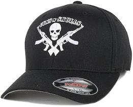 Logo Black Flexfit - GUNS n SKULLS