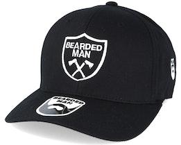 Axe Crest Black Flexfit - Bearded Man