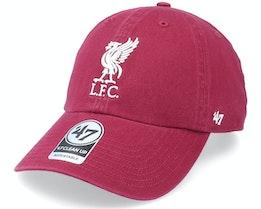Liverpool FC Clean Up Cardinal Dad Cap - 47 Brand
