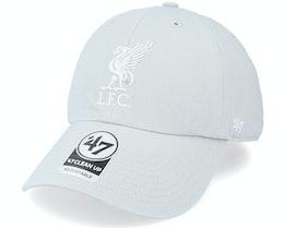 Liverpool FC Clean Up Grey Dad Cap - 47 Brand