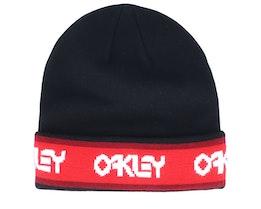 B1B Blackout Black/Red Cuff - Oakley