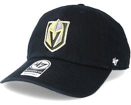 Vegas Golden Knights Clean up Black Adjustable - 47 Brand