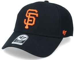 San Francisco Giants Mvp Black/Orange Adjustable - 47 Brand