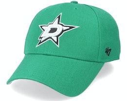 Dallas Stars Mvp Kelly Green/Silver Adjustable - 47 Brand