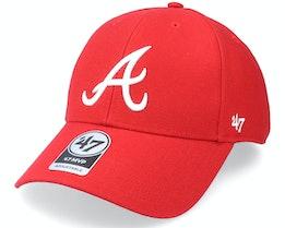 Atlanta Braves Mvp Red Adjustable - 47 Brand