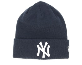 Kids New York Yankees Knit Navy/White Cuff - New Era