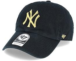 New York Yankees Metallic Black/Gold Loughlin Adjustable - 47 Brand