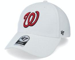 Washington Nationals Mvp White Adjustable - 47 Brand