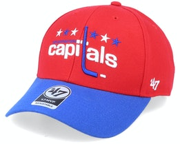 Washington Capitals Mvp Two Tone Vintage Red/Blue Adjustable - 47 Brand