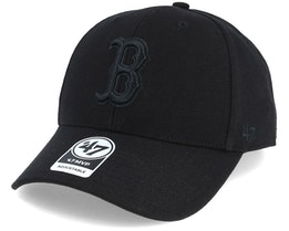 Boston Red Sox Mvp Black/Black Adjustable - 47 Brand