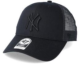 New York Yankees Branson Black Trucker - 47 Brand
