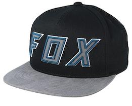 Posessed Black/Grey Snapback - Fox