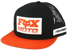 Charger Black/Orange Trucker - Fox