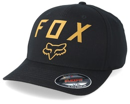 Number 2 Black/Yellow Flexfit - Fox
