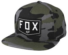 Shield Grey Camo Snapback - Fox