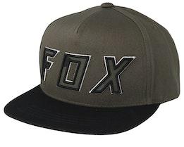 Kids Posessed Olive Green/Black Snapback - Fox