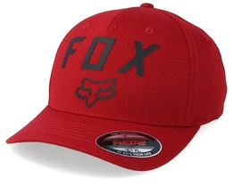 Number 2 Cardinal/Black Flexfit - Fox
