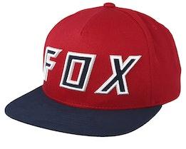 Posessed Cardinal/Navy Snapback - Fox