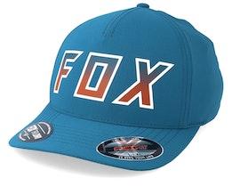 Hightail It Petrol Blue Flexfit - Fox