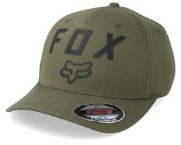Number 2 Olive Green/Black Flexfit - Fox