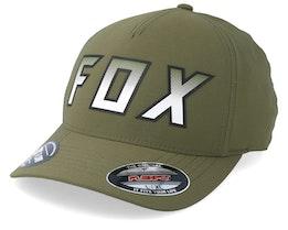 Hightail It Olive Green Flexfit - Fox