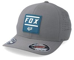 Listless Grey/Petrol Blue Flexfit - Fox