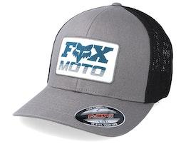 Charger Grey/Black Mesh Flexfit - Fox